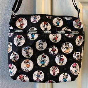 Disney LeSportsac Minnie Mouse Cleo crossbody